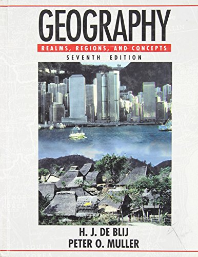 9780471580898: Geography: Realms, Regions, and Concepts