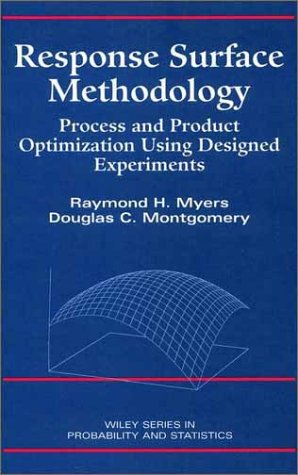 9780471581000: Response Surface Methodology: Process and Product Optimization Using Designed Experiments
