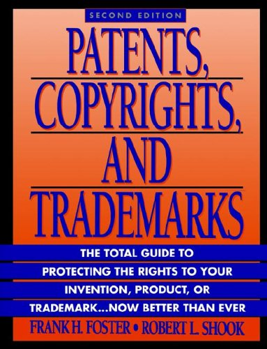 9780471581239: Patents, Copyrights, & Trademarks