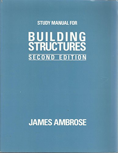 9780471582878: Building Structures, Study Manual