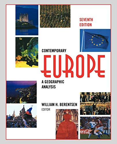 9780471583363: Contemporary Europe: A Geographic Analysis