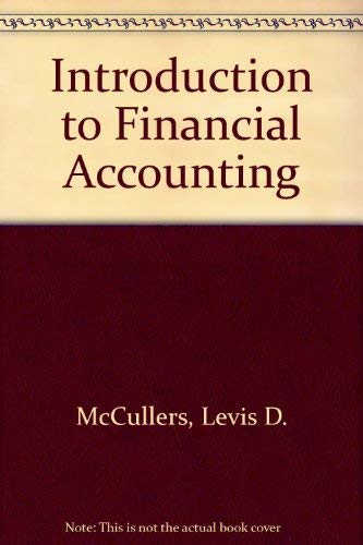 9780471583653: Introduction to financial accounting (Melville series on management, accounting, and information systems)