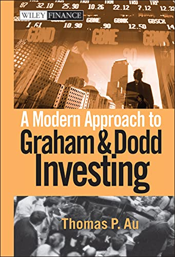 9780471584155: A Modern Approach to Graham and Dodd Investing