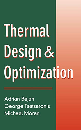 9780471584674: Thermal Design and Optimization