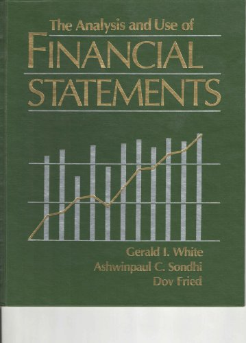 9780471584704: Analysis and Use of Financial Statements