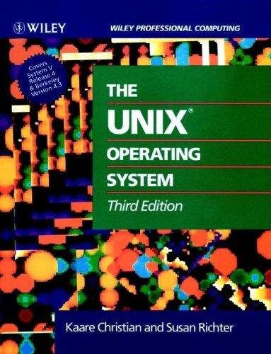 9780471586838: The UNIX?Operating System (Wiley Professional Computing)