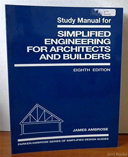 9780471588603: Simplified Engineering for Architects and Builders, 8th Edition (Study Manual)