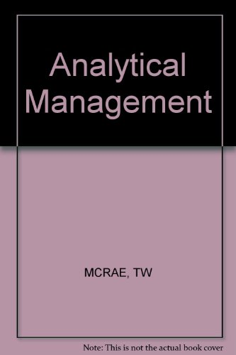 Analytical Management