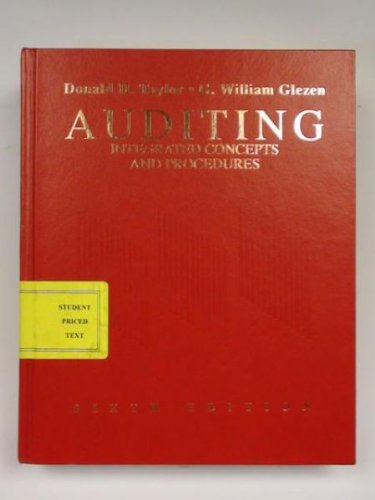 9780471590392: Auditing: Integrated Concepts and Procedures
