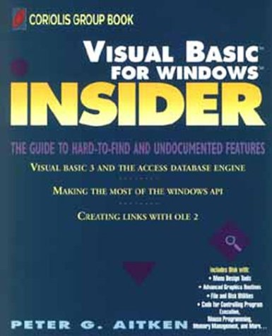 9780471590927: Visual Basic for Windows Insider (Wiley Insiders Guides Series)