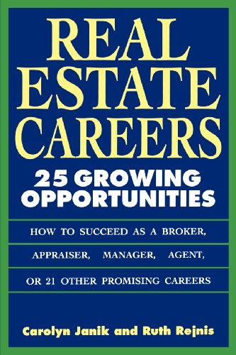 9780471592037: Real Estate Careers: 25 Growing Opportunities