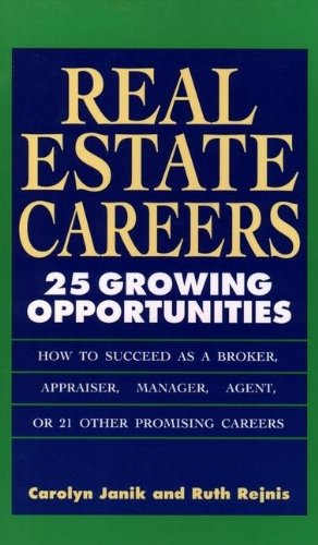 9780471592044: Real Estate Careers: 25 Growing Opportunities