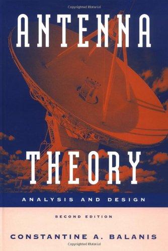 9780471592686: Antenna Theory: Analysis and Design