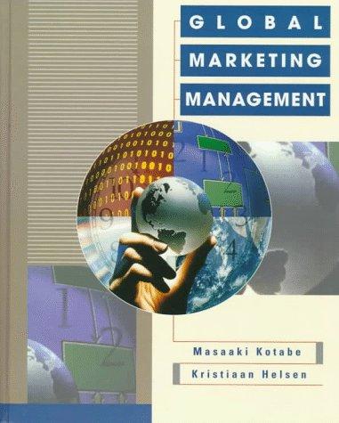 9780471592884: Global Marketing Management