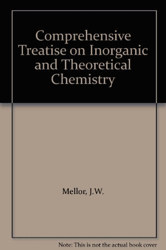 9780471593256: Comprehensive Treatise on Inorganic and Theoretical Chemistry