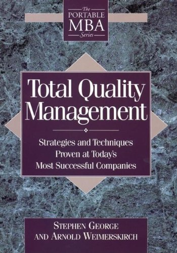 9780471595380: Total Quality Management: Strategies and Techniques Proven at Today's Most Successful Companies