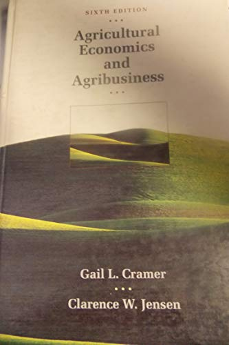 9780471595526: Agricultural Economics and Agribusiness