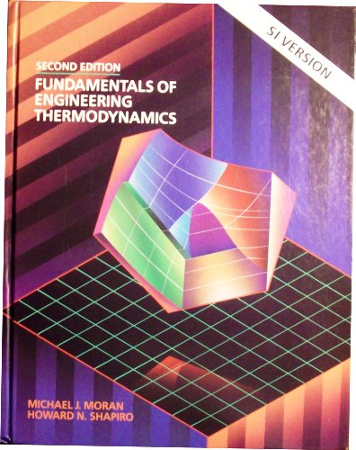 9780471595908: Fundamentals of Engineering Thermodynamics