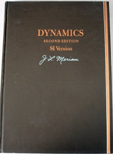 9780471596073: Dynamics (2nd edition, SI version)
