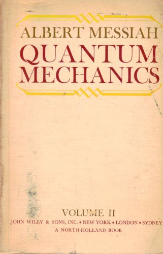 9780471597681: Quantum Mechanics, Vol. 2