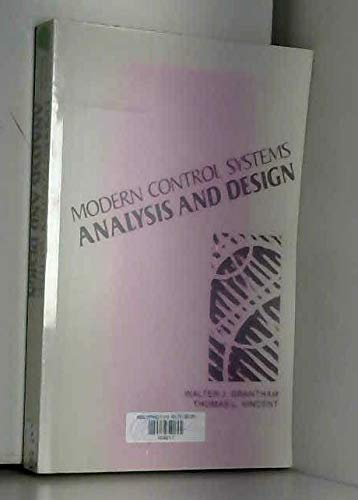9780471599586 Modern Control Systems Analysis And Design Wiley International Edition Abebooks 0471599581