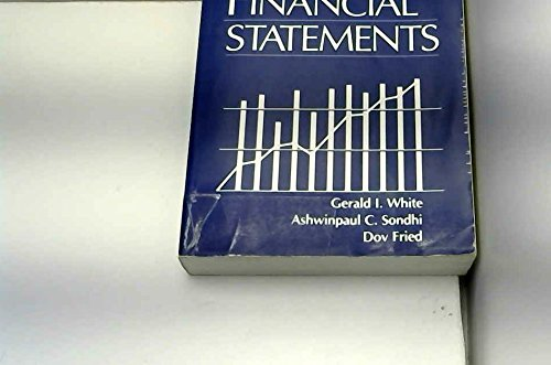 9780471599722: The Analysis and Use of Financial Statements