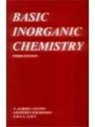 9780471599746: Basic Inorganic Chemistry