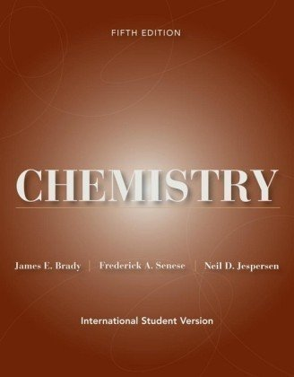 9780471599791: Chemistry: The Study of Matter and Its Changes