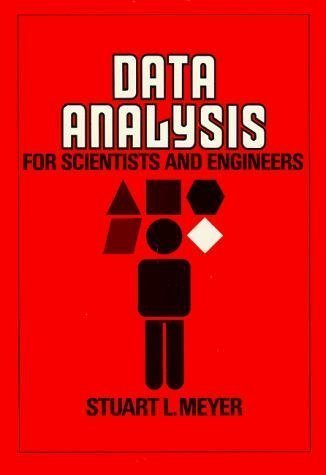 9780471599951: Data Analysis for Scientists and Engineers