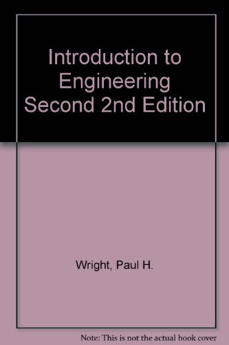 9780471599982: Introduction to Engineering