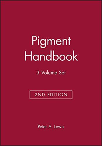 Pigment Handbook (Hardback): P. A. Lewis
