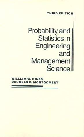9780471600909: Probability and Statistics in Engineering and Management Science, 3rd Edition