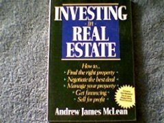 9780471601159: Investing in Real Estate