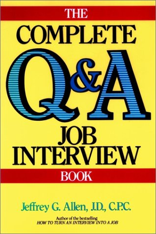 9780471601364: The Complete Q&A Job Interview Book