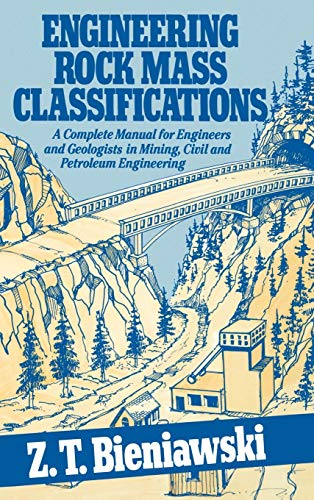 9780471601722: Rock Mass Classifications: A Complete Manual for Engineers and Geologists in Mining, Civil and Petroleum Engineering