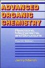 9780471601807: Advanced Organic Chemistry