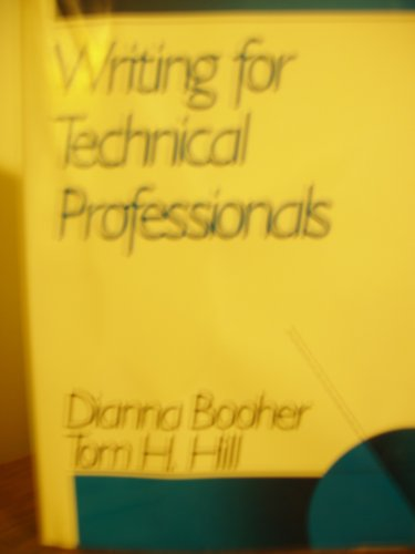 9780471602514: Writing for Technical Professionals