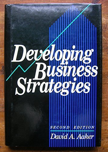 9780471602965: Developing Business Strategies (Wiley Series on Marketing Management)