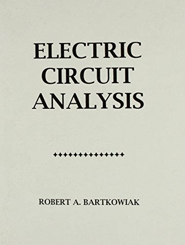 9780471603559: Electric Circuit Analysis