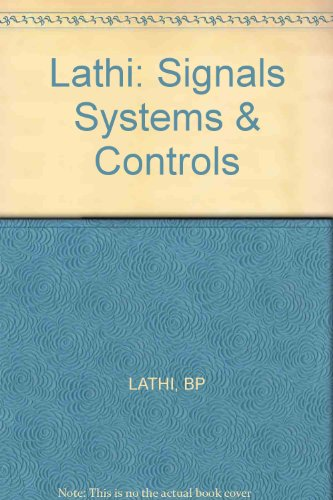 9780471603627: Signals, System and Control