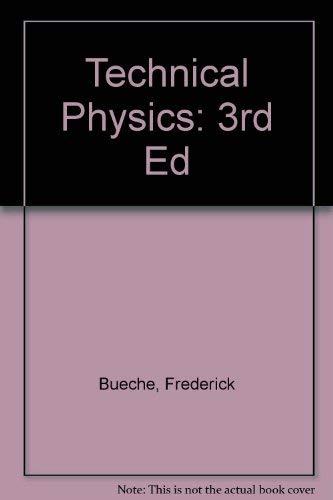 9780471603849: Technical Physics
