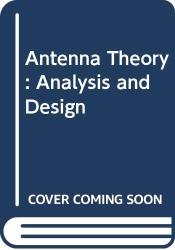 9780471606390: Antenna Theory: Analysis and Design