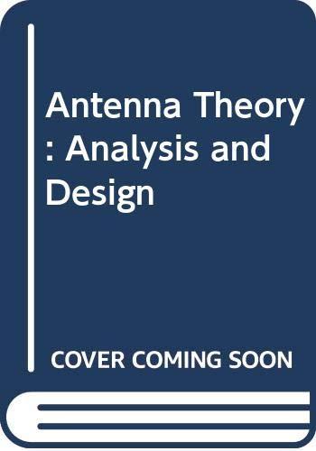 9780471606390: Antenna Theory: Analysis and Design