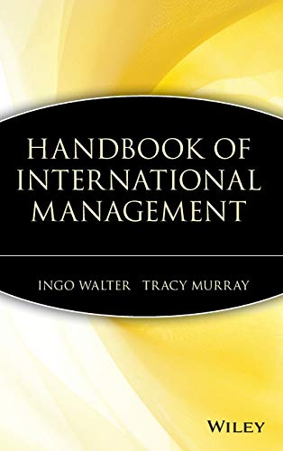9780471606741: Handbook of International Management