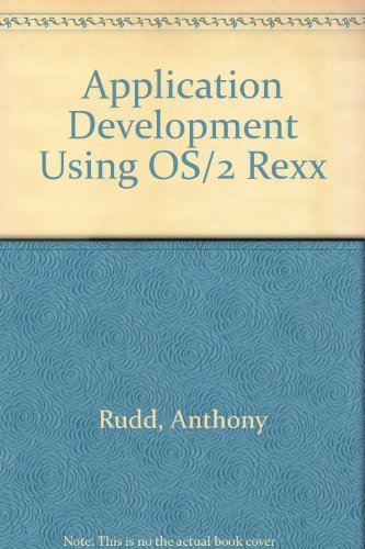 9780471606918: Application Development Using OS/2 REXX