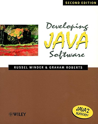 9780471606963: Developing Java Software, 2nd Edition