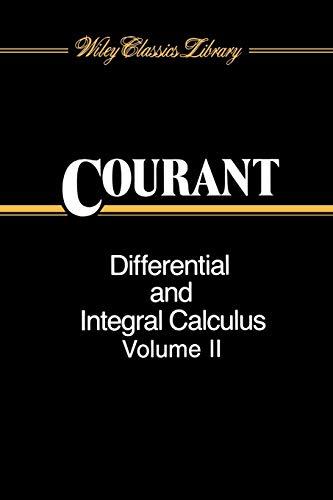 9780471608400: Differential and Integral Calculus, volume 2