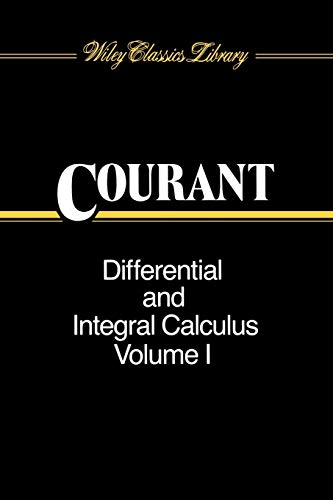 9780471608424: Differential and Integral Calculus, volume 1