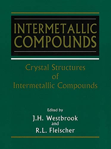 9780471608806: Intermetallic Compounds, Volume 1, Crystal Structures of