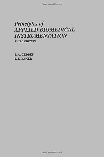 9780471608998: Principles of Applied Biomedical Instrumentation